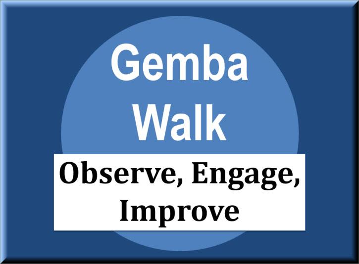 Gemba Walk on Teaching Money