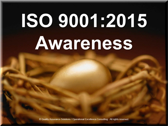 Iso 9001 2015 Awareness
