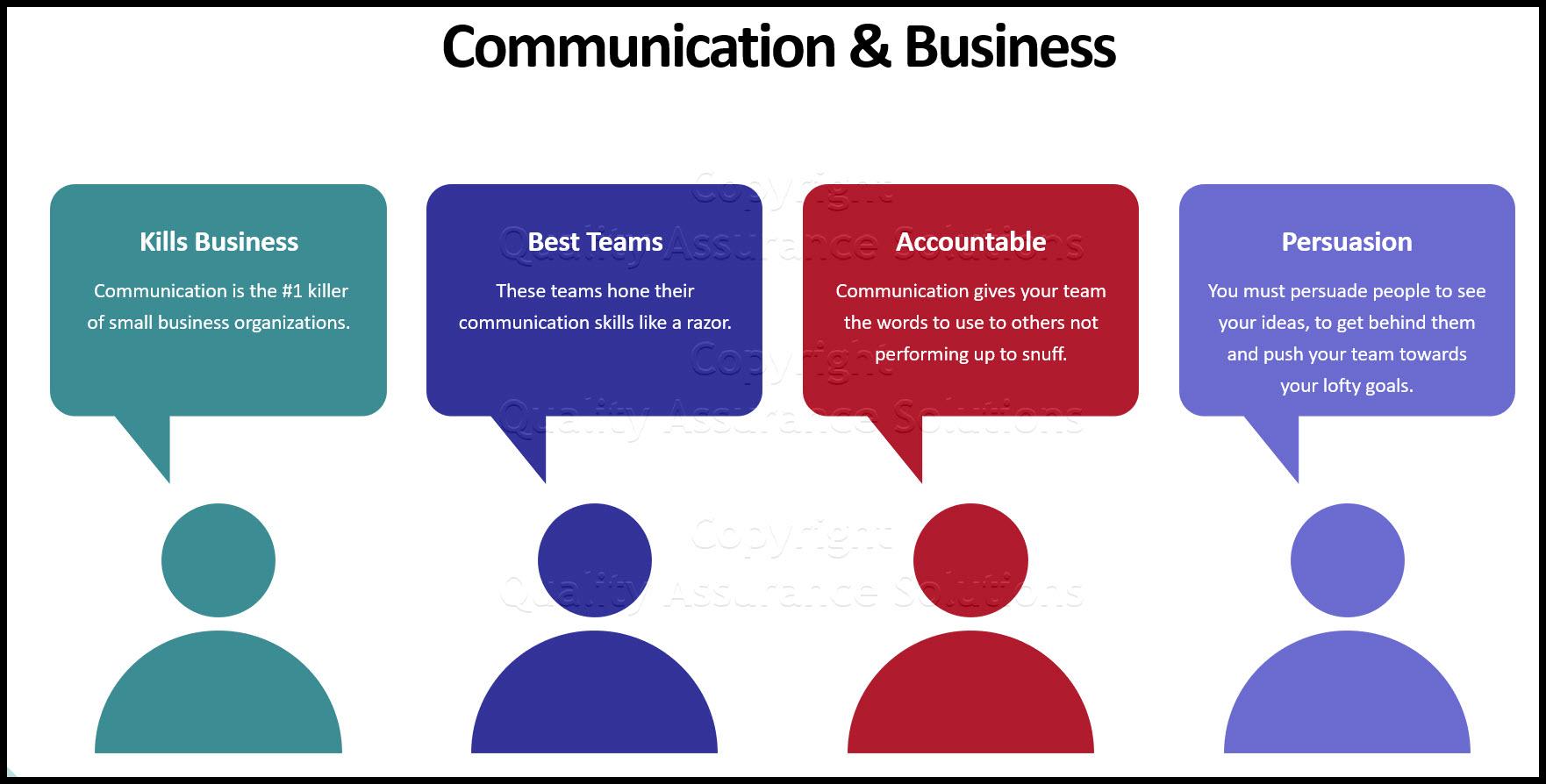Team Building Communication business slide
