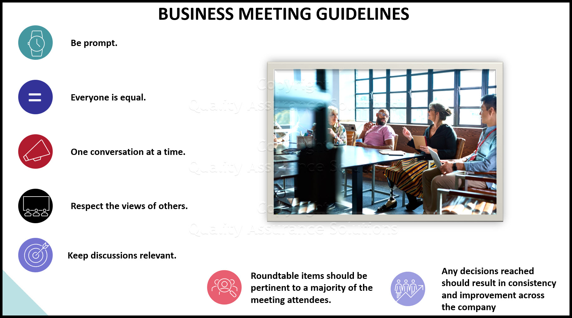 business meeting agenda format slide