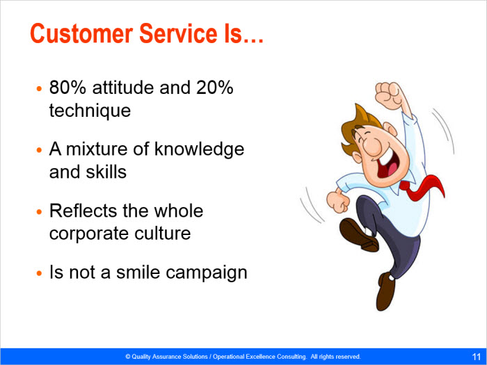 customer service training skills