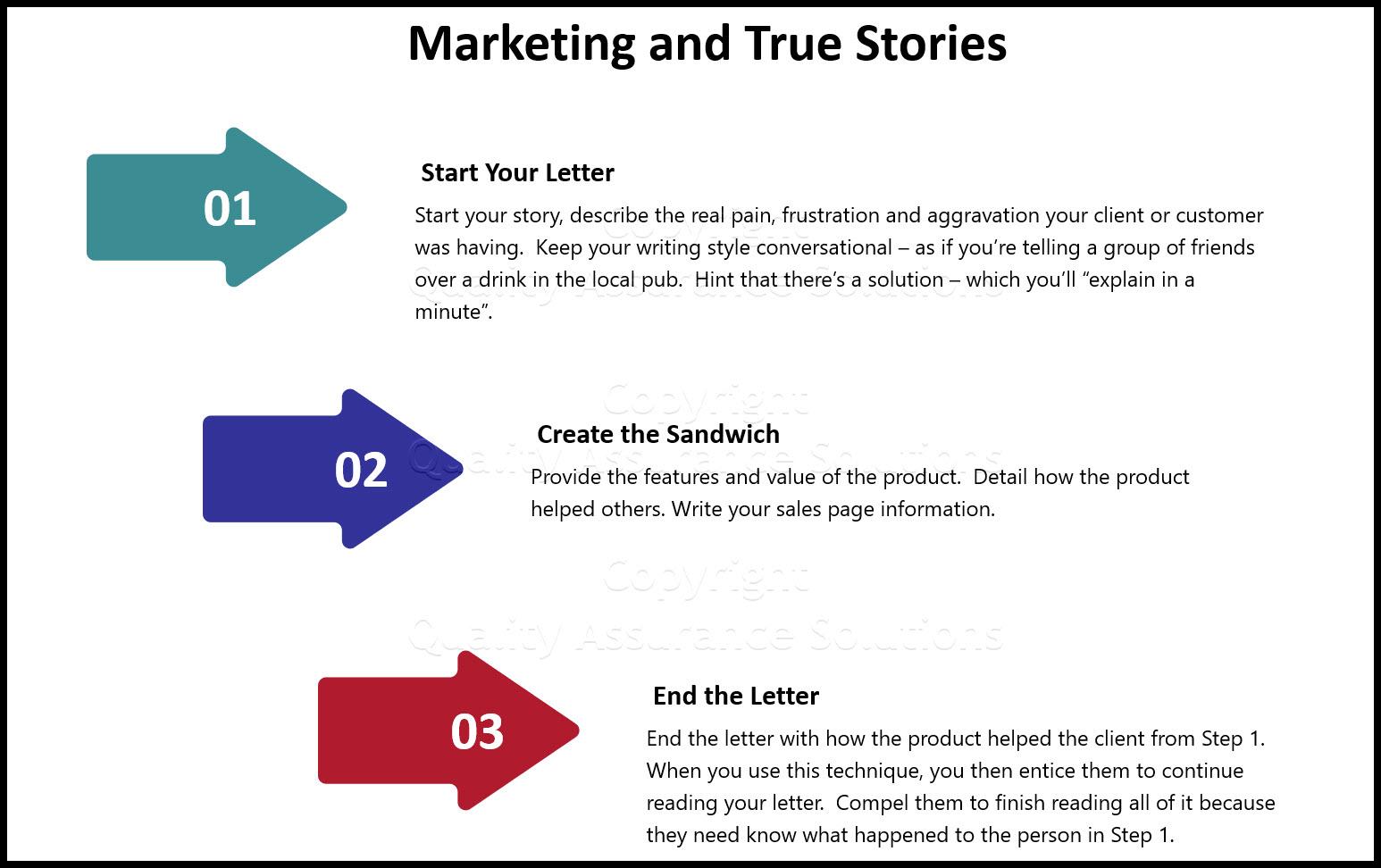 interesting true stories business slide