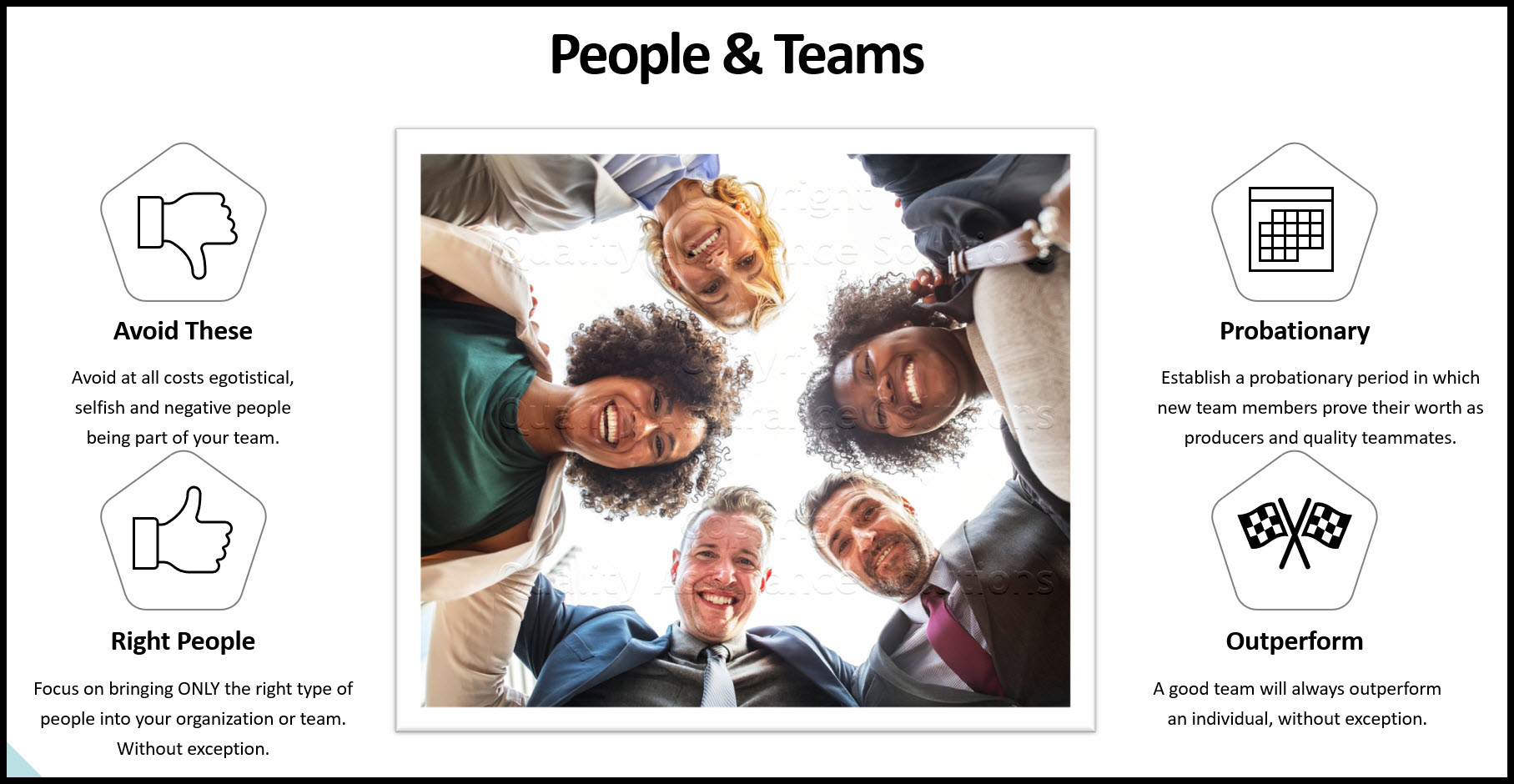 why is teamwork important business slide