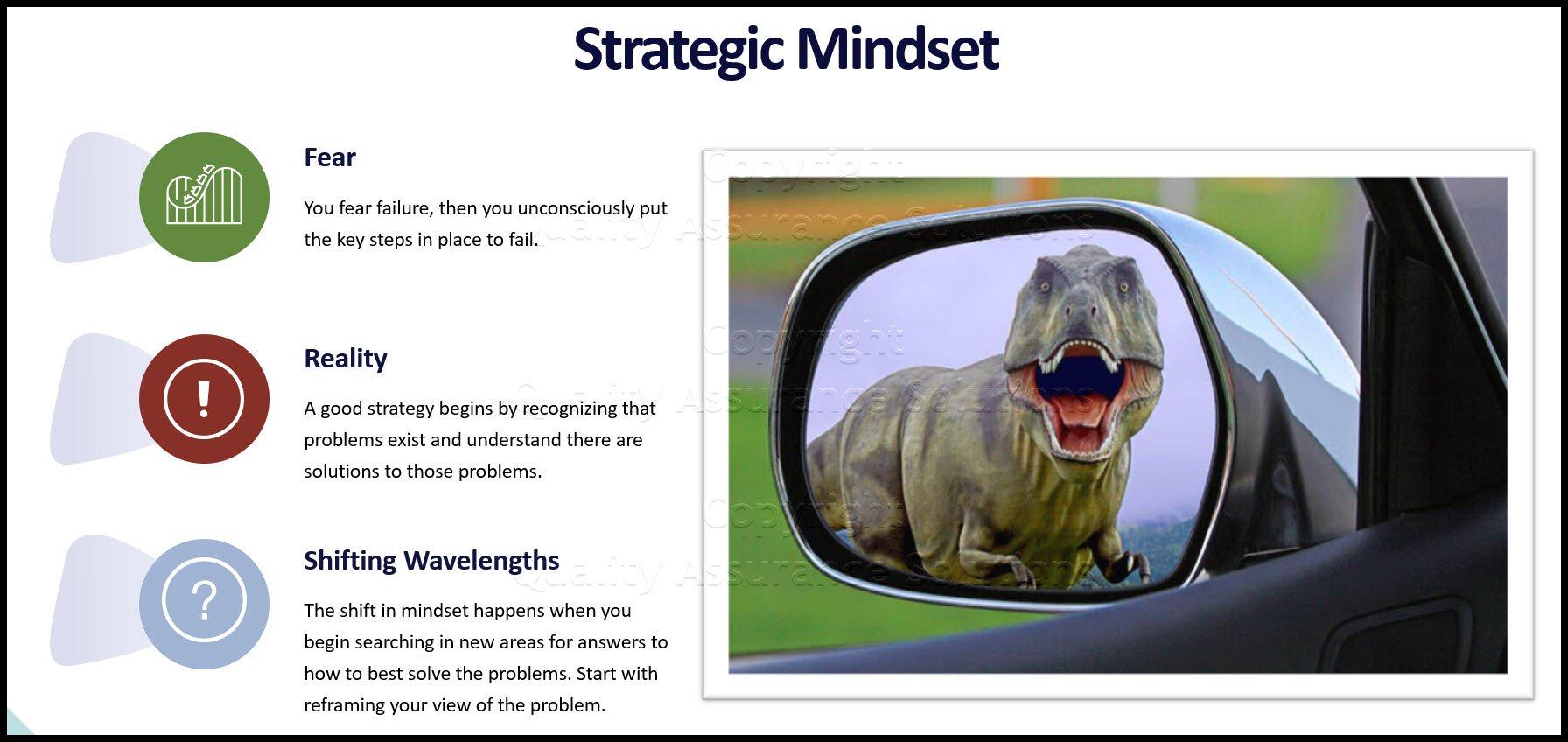 Strategic Mindset business slide