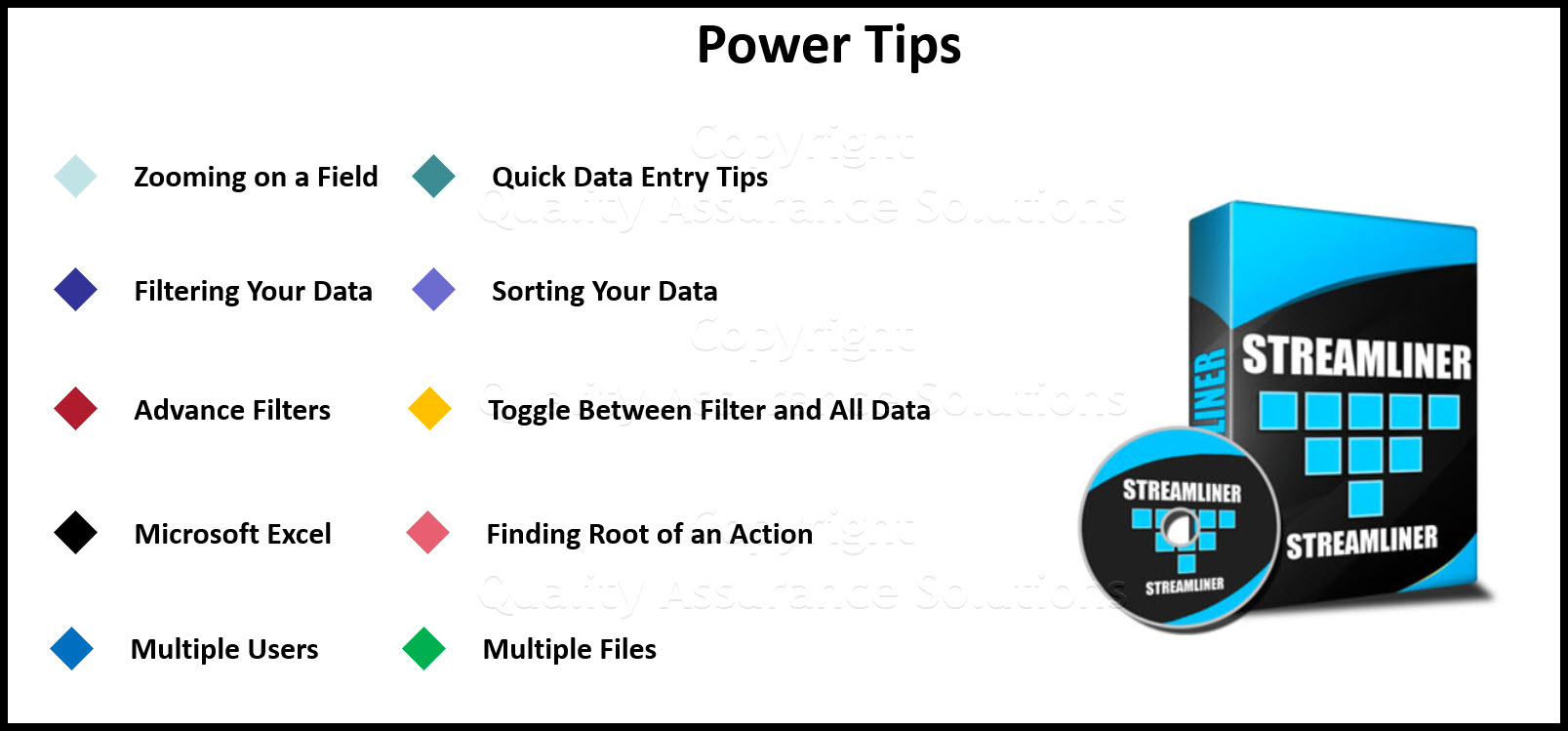 StreamLiner Power Tips business slide