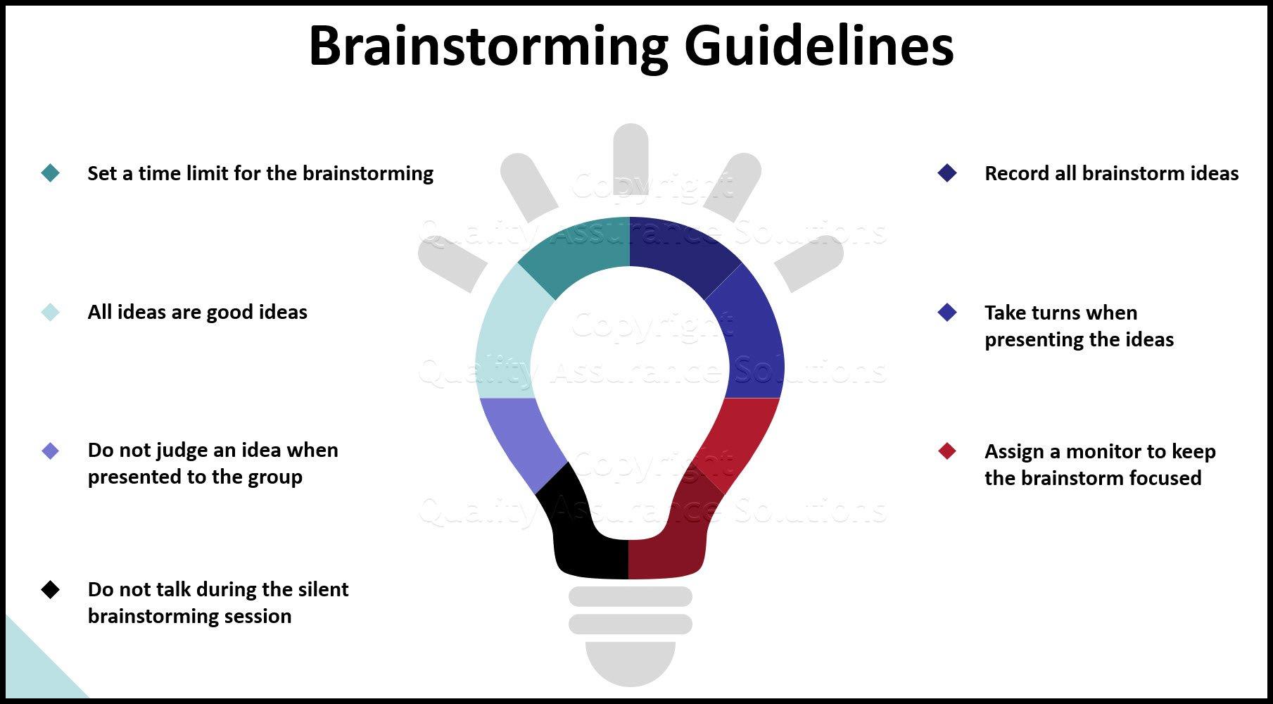 brainstorming games slide