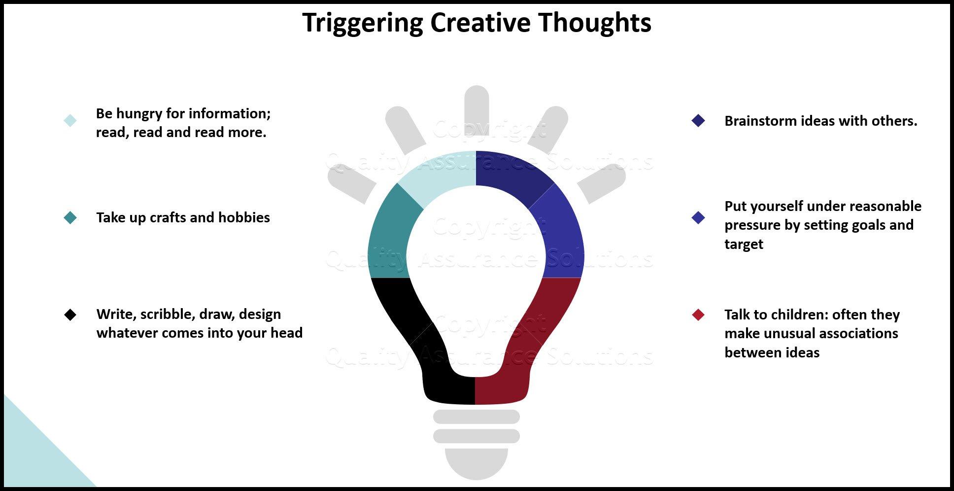 creative thinking slide